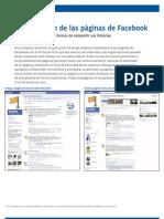 Guía de nuevas funciones y características de las páginas en Facebook