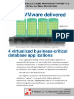 4 Virtualized Business Critical Database Applications