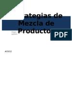 Estrategias de Mezcla de Productos-Final2