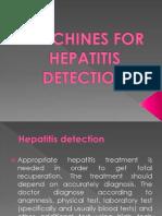 Machines for Hepatitis Detection