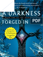 Exclusive - Read the first 100 pages of A DARKNESS FORGED IN FIRE
