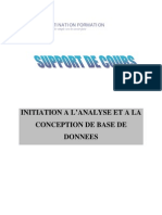 Méthode Merise - Analyse Et Conception de Système D'Informations