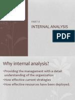 Chapter 3 - Internal Analysis