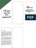 FOLLETO PAGANOS