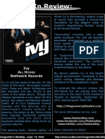 Songwriter's Monthly Sept. '11, #140 - Ivy
