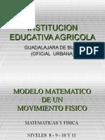 Modelo code Un Movimiento Fisico