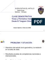 Clase Demostrativa Areas y Perimetros - Barbosa