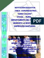 Desarrollo de Las Competencias MatemÁticas Desde La Granja Integral Autosostenible