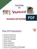 Yahoo Case Study