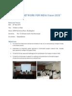 Workshop on Indias Transport Network Vision 2020 - Overview Ver2