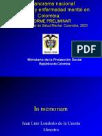 Encuesta de Salud Mental (Colombia Oms)