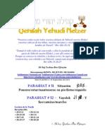 Parashat Nitzavím y Vayelek # 51, 52 Adul 6011