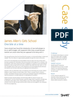 SMART James Allen School case study
