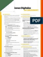 cablevision servicios digitales