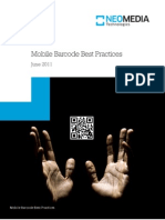 Neom Mobile Barcode Best Practices   Industry Study