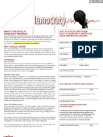 Voice of Democracy 2011-12 Student Entry Form