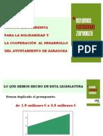 Plan director Cooperación