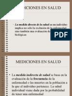 Mediciones en Salud