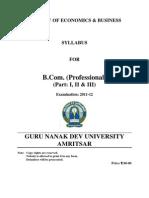 b.com Professional_ Part i II & III