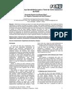 Projeto Balança  Aerodinamica para tunel de vento FEAU_