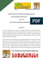 Programa de Gobierno Completo Jorge Arias