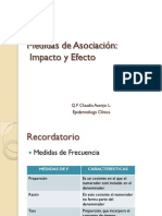 Medidas de Asociación e Impacto