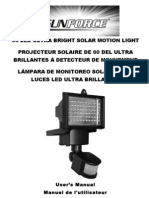 Sunforce 60LED Motion Light Manual (02_16_11)