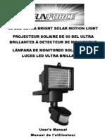 Sunforce 60LED Motion Light Manual (02_16_11)