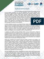 Declaracao Rio de Janeiro Policias PORTUGUES