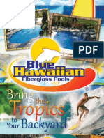 Blue Hawaiian Fiberglass Pools 2011 Catalog