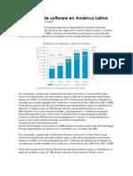 la piratería de software en Latinoamerica
