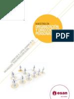Folleto de la Maestría en Organización y Dirección de Personas 2011-II