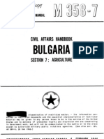 Civil Affairs Handbook Bulgaria Section 7