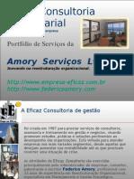 Portfólio de Amory Serviços (Eficaz consultoria de gestão)