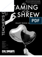 Taming of the Shrew Teacher's Guide