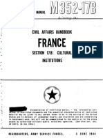 Civil Affairs Handbook France Section 17B