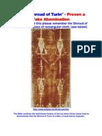 Shroud of Turin Biblically Debunked
