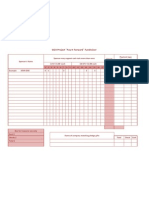 Pledge sheet