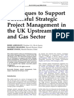 Techniques to Support PM in Upstrem Oil & Gas