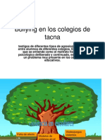 Bullying en Los Colegios de Tacna