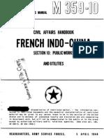 Civil Affairs Handbook French Indochina Section 10