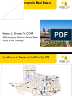 San Antonio Commercial Real Estate Market Overview 08.16.11
