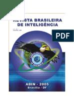 Revista Brasileira de Inteligência V1 - N1 Dez 2005