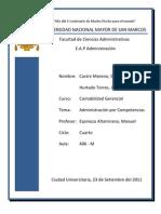 Trabajo Admin is Trac Ion Por Competencias