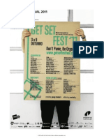 Get Set Festival - PRESS KIT