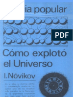 Como explotó el universo-Nóvikov-Editorial Mir