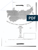 Caesar 28 - Soviet Military Thought on Future War