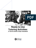Ready to Use Activities