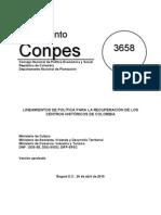 CONPES 3658