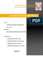 Monografia Ev. de Una Empresa